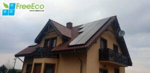 fotowoltaika - panele fotowoltaiczne na dachu