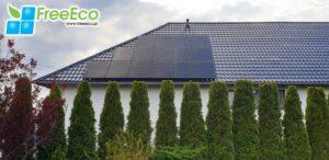 fotowoltaika Lublin - panele fotowoltaiczne na dachu