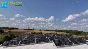 farma solarna - fotowoltaiczna