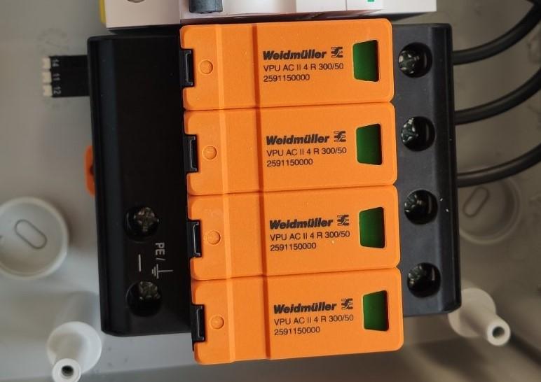 ochrona przepięciowa instalacji pv ochronnik typu 2